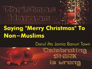 Saying Merry Christmas to Non-Muslims