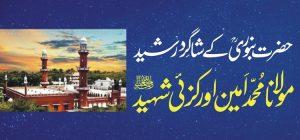 maulana muhammad ameen orakzai shaheed by mufti umar anwar badakhshani مولانا محمد امین اورکزئی شہید تحریر مفتی عمر انور بدخشانی